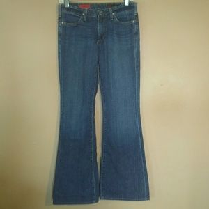 AG 27 The New Legend Dark Wash Flare Jeans